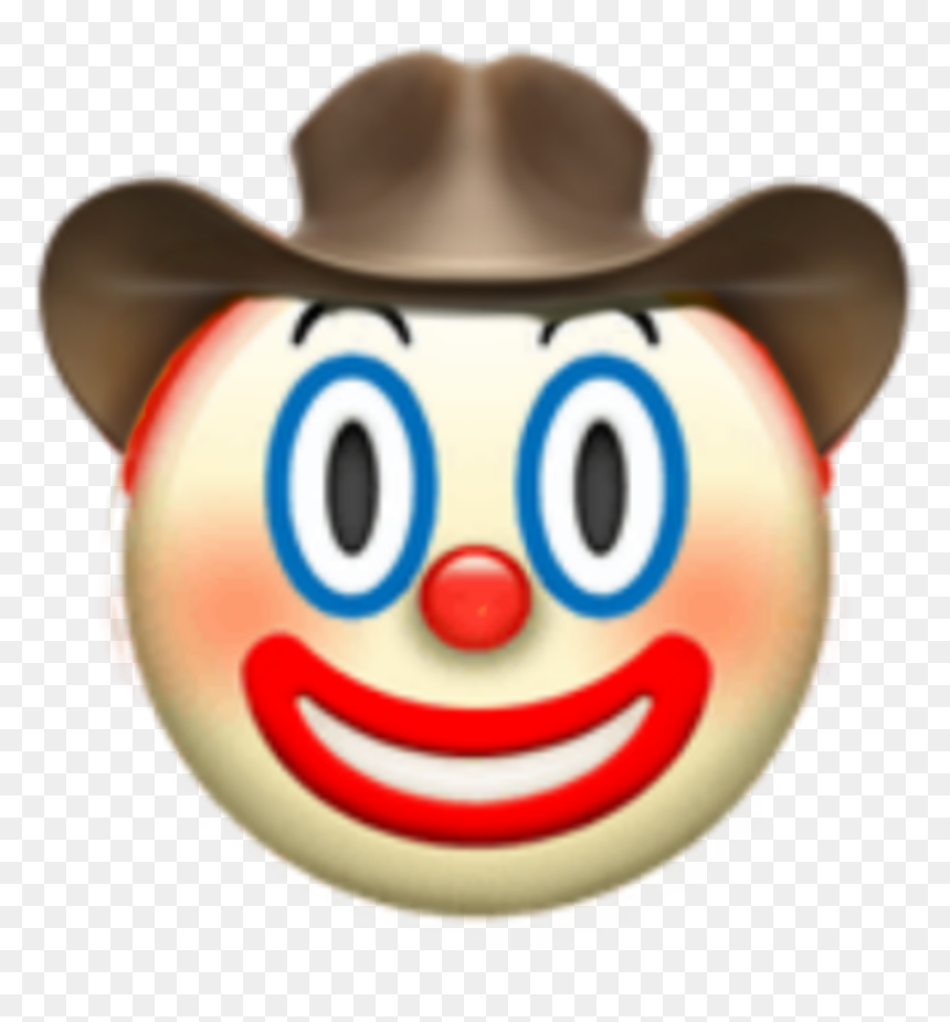 Emojiiphone Emoji Clown Hats Iphone Meme Tumblr Clown Emoji With Cowboy Hat Hd Png Download Vhv Whatever might be the purposes it can be used everywhere. clown emoji with cowboy hat hd png