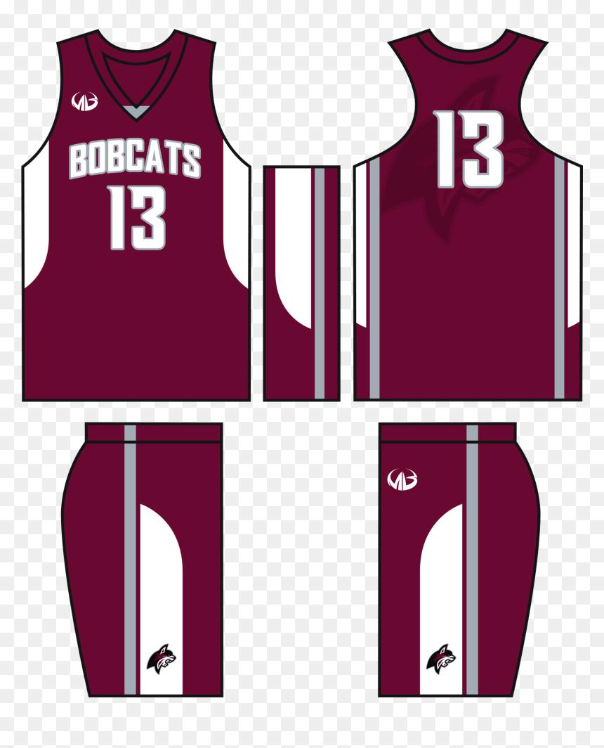 Basketball Jersey Template Maroon Basketball Uniform Design Hd Png Download Vhv