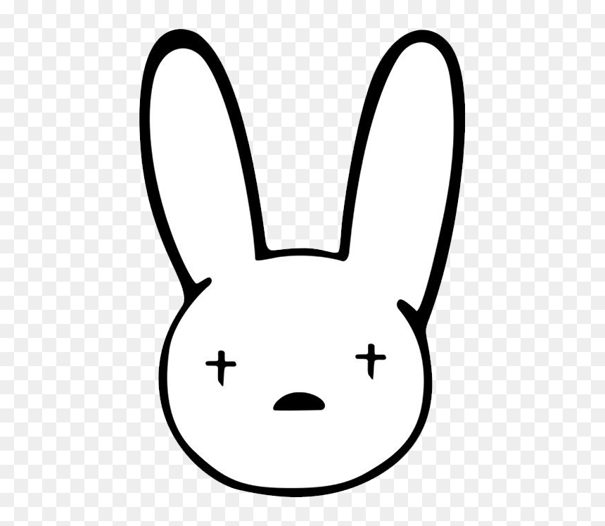 Bad Bunny Logo Background / Paypal/venmo is currently not ...