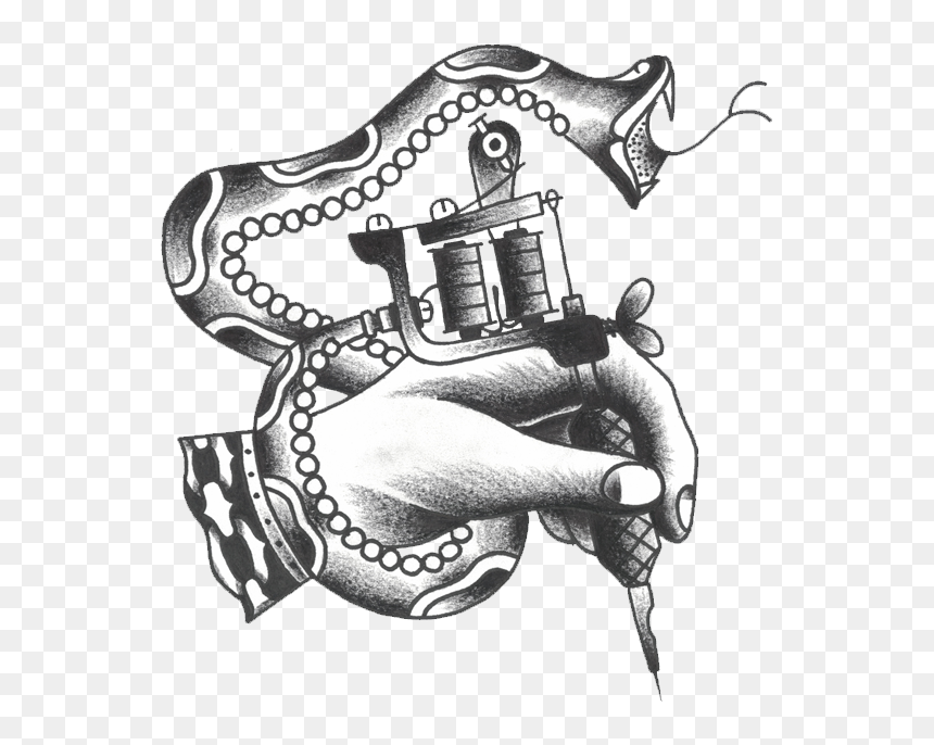 Transparent Tattoo Machine Png Tattoo Machine Logo Png Png Download Vhv
