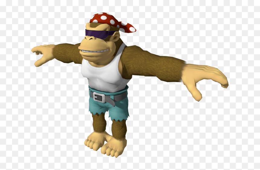 Cursed Image Meme T Pose Png Download Funky Kong Transparent Png Vhv