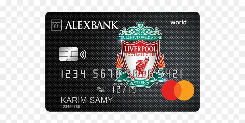 Liverpool Fc World Credit Card بطاقة ليفربول بنك الاسكندرية Hd
