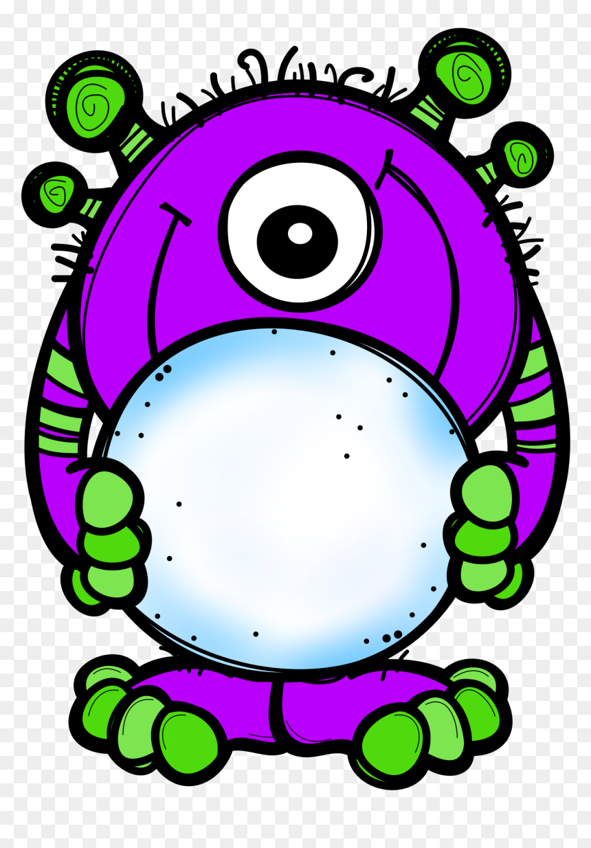 Ch B Monsters Funny Monsters Monsters Inc Monster Transparent Background Melonheadz Clipart Hd Png Download Vhv