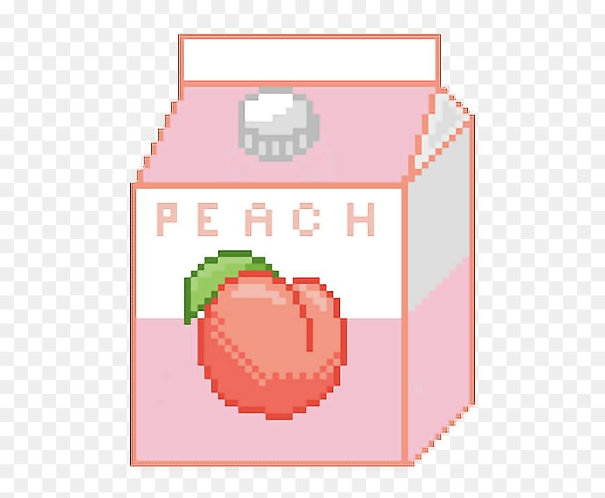 Peach Fruit Pixel Art Hd Png Download Vhv