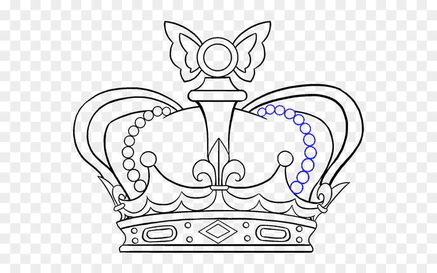 Crown Clip Easy Cartoon Easy Simple Crown Drawing Hd Png Download Vhv Here you can explore hq cartoon crown transparent illustrations, icons and clipart with filter setting like size, type, color etc. easy simple crown drawing hd png