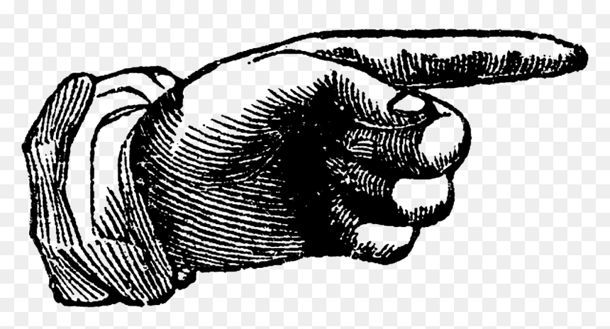 pointing hand vintage hand point png transparent png vhv vintage hand point png transparent png