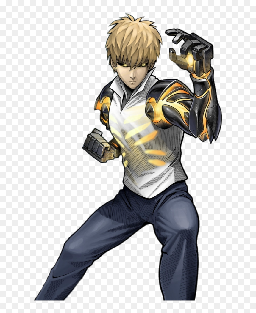 One Punch Man Character Genos One Punch Man Genos Png Transparent Png Vhv