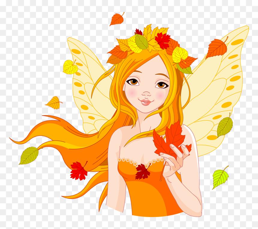 Tubes Automne Ecrire Un Nouvel Article Autumn Fairy Garden Fairy Autumn Clipart Free Hd Png Download Vhv