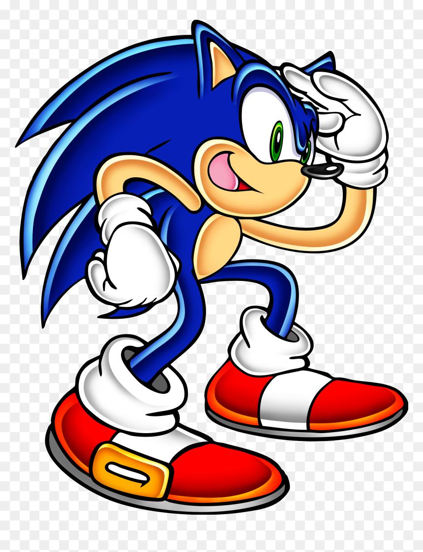 Sa Sonic Sonic Adventure Artwork Hd Png Download Vhv