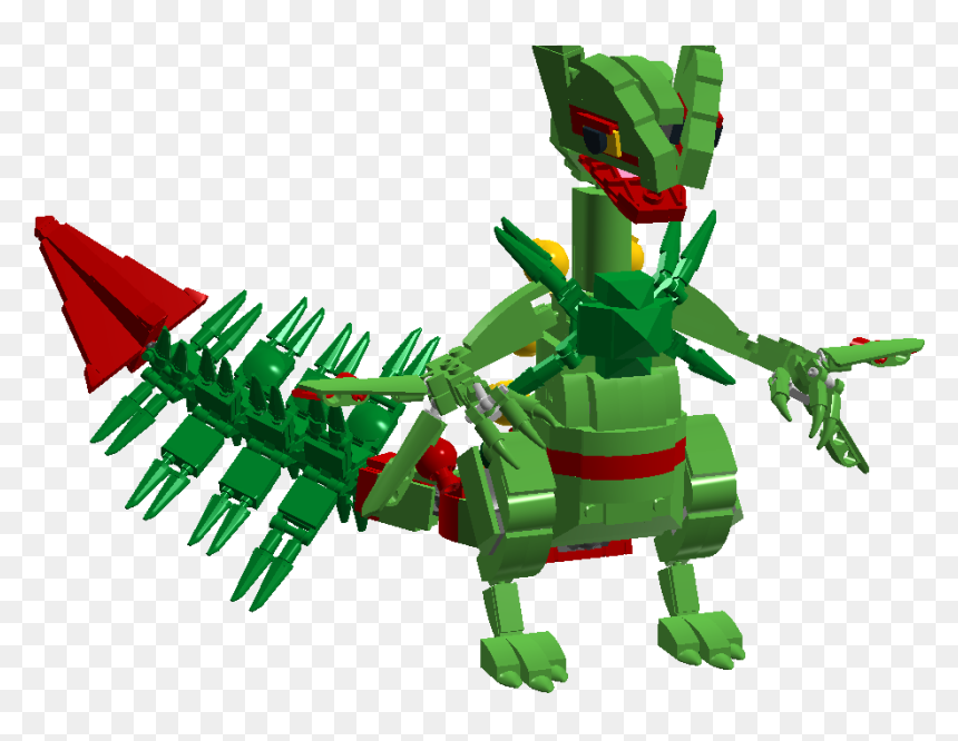 Lego Pokemon Mega Sceptile Hd Png Download Vhv