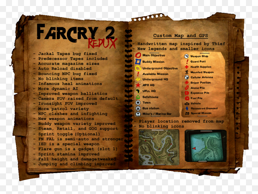 Far Cry 2 Redux Far Cry 2 Hd Png Download Vhv