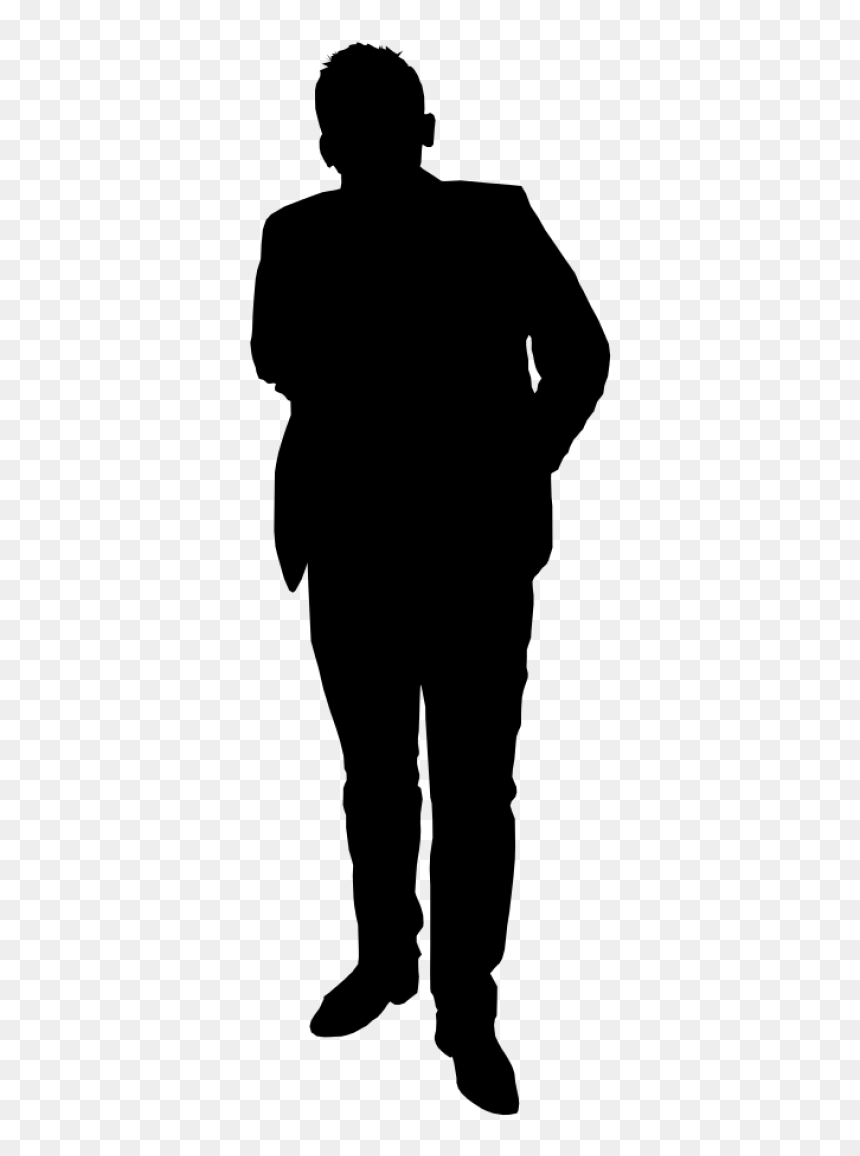 Free Png Man Standing Silhouette Png Images Transparent Person Silhouette Transparent Background Png Download Vhv