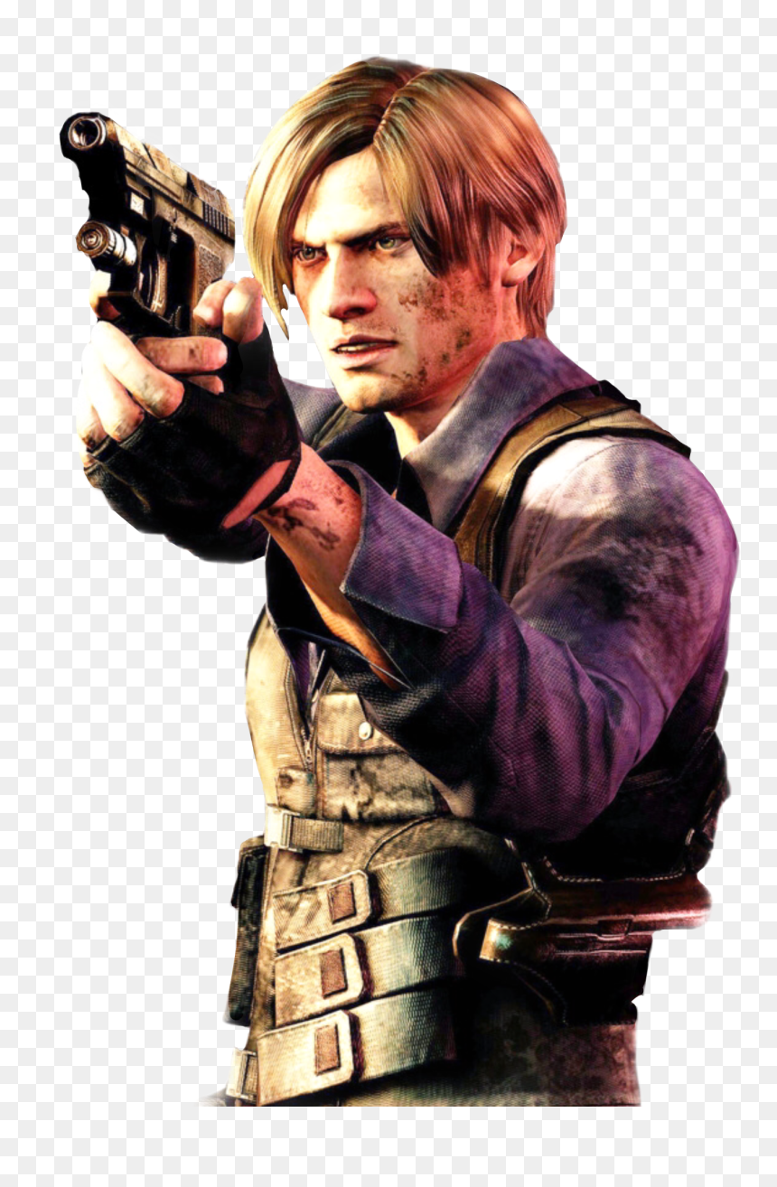 Leon S Kennedy Resident Evil 4 Coatumes Hd Png Download Vhv