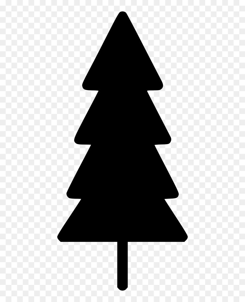 Thin Christmas Pine Tree Skinny Christmas Tree Clip Art Hd Png Download Vhv