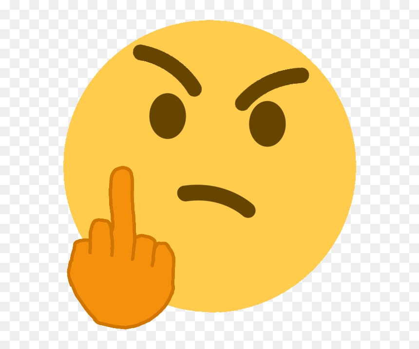 Mad Person Middle Finger Discord Emoji Transparent Background Custom Discord Emojis Hd Png Download Vhv