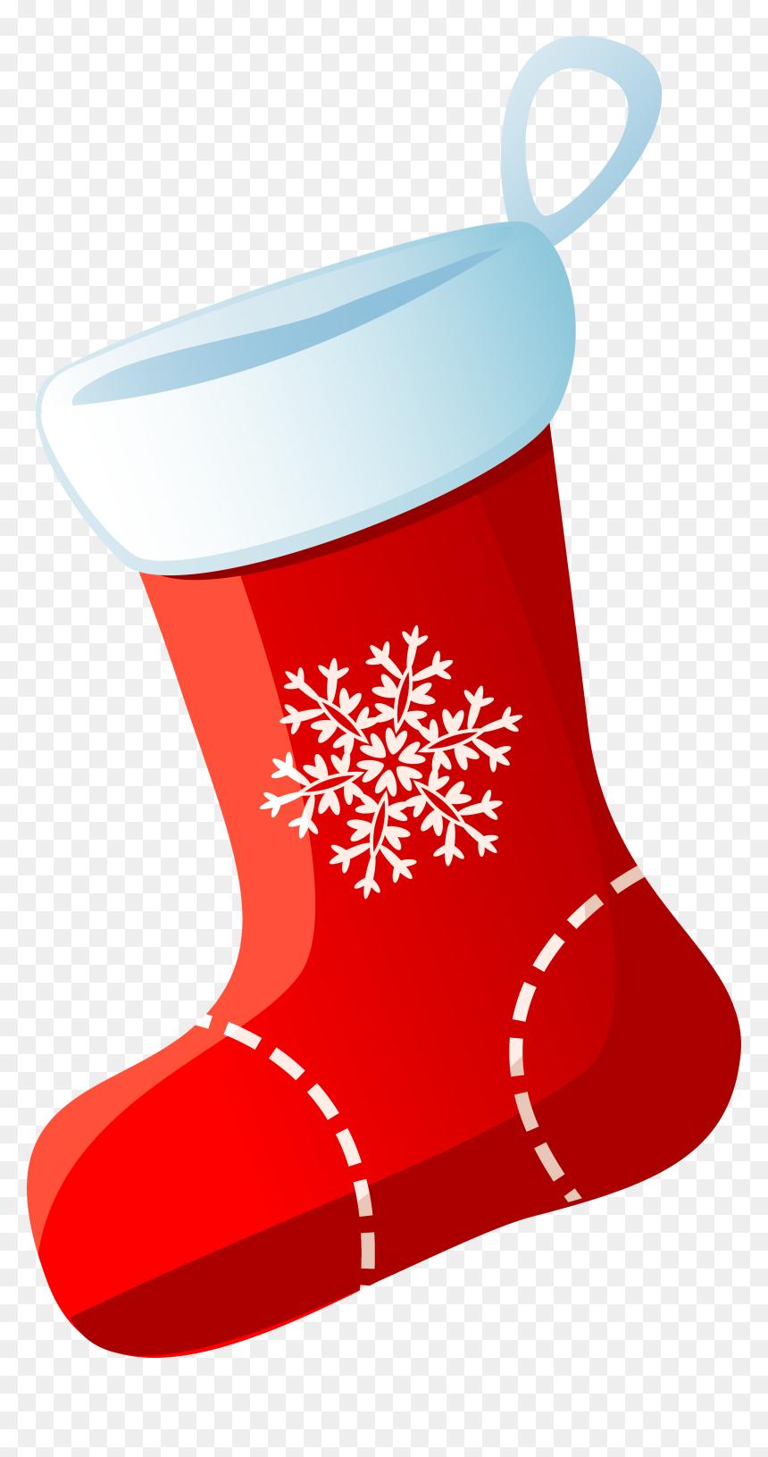 Christmas Stocking Sock - Christmas Ornament Christmas ... (860 x 1631 Pixel)