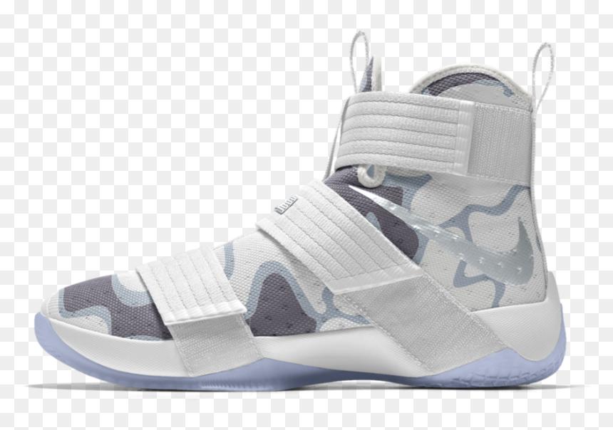 Ir a caminar Estacionario exilio  Nike Zoom Lebron Soldier Png - Lebron Soldier 10 White Camo, Transparent  Png - vhv