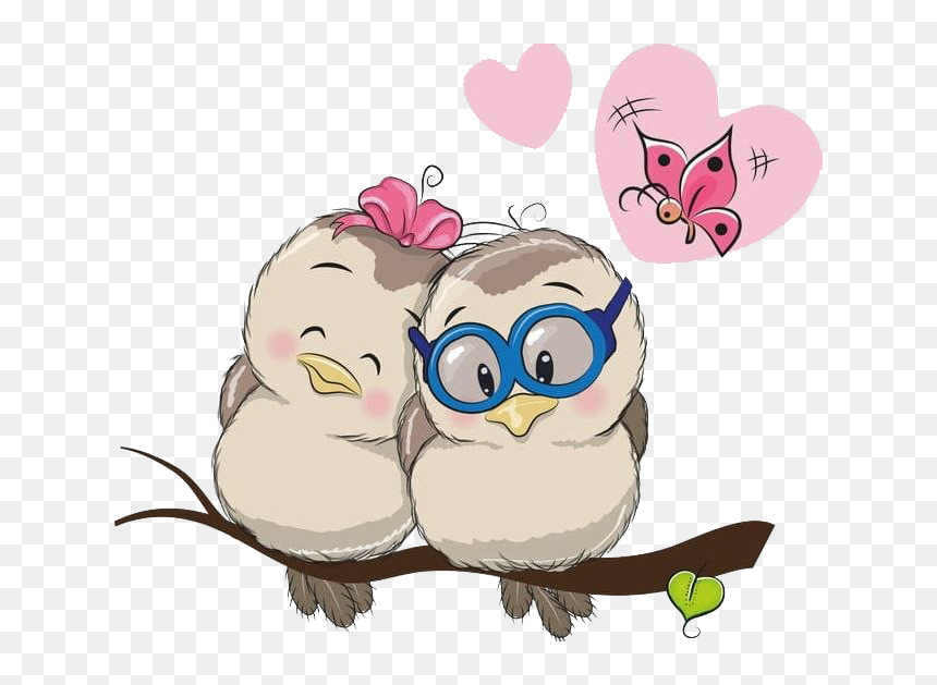 Animals In Love Cartoon Hd Png Download Vhv