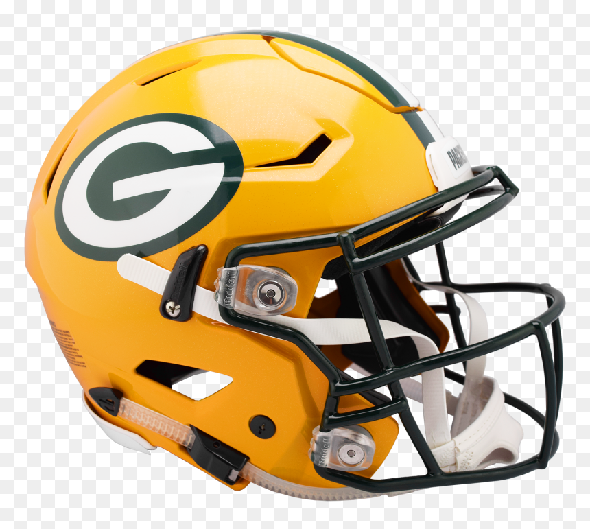Packers Speed Flex Helmets Green Bay Packers Football Helmet Hd Png Download Vhv