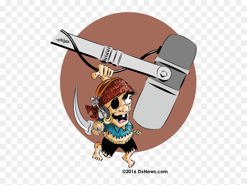 Ox5t Pirate Amateur Radio Hd Png Download Vhv