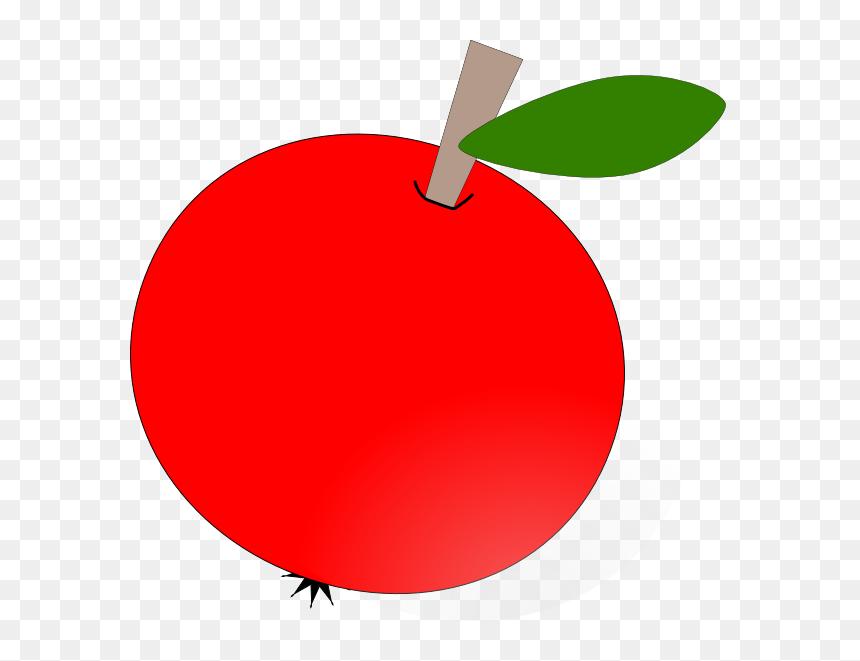 Teacher Apple Clipart Free Apple Clip Art At Clker Hd Png Download Vhv