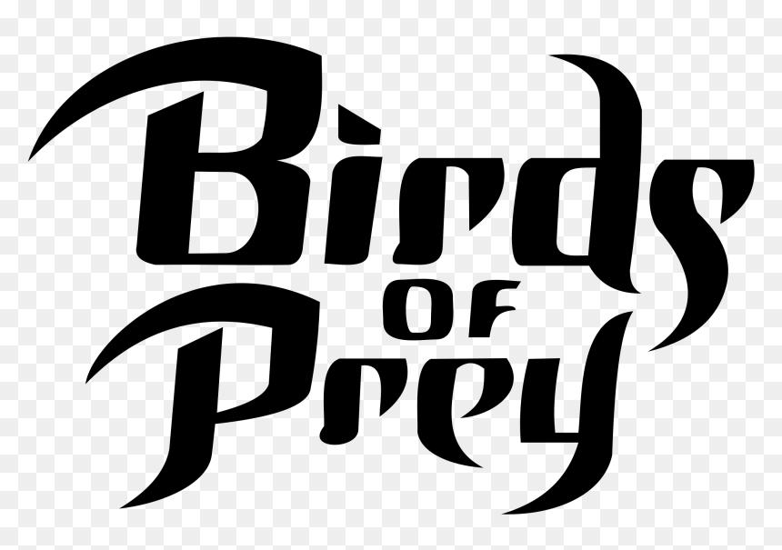 Birds Of Prey Title Png Transparent Png Vhv