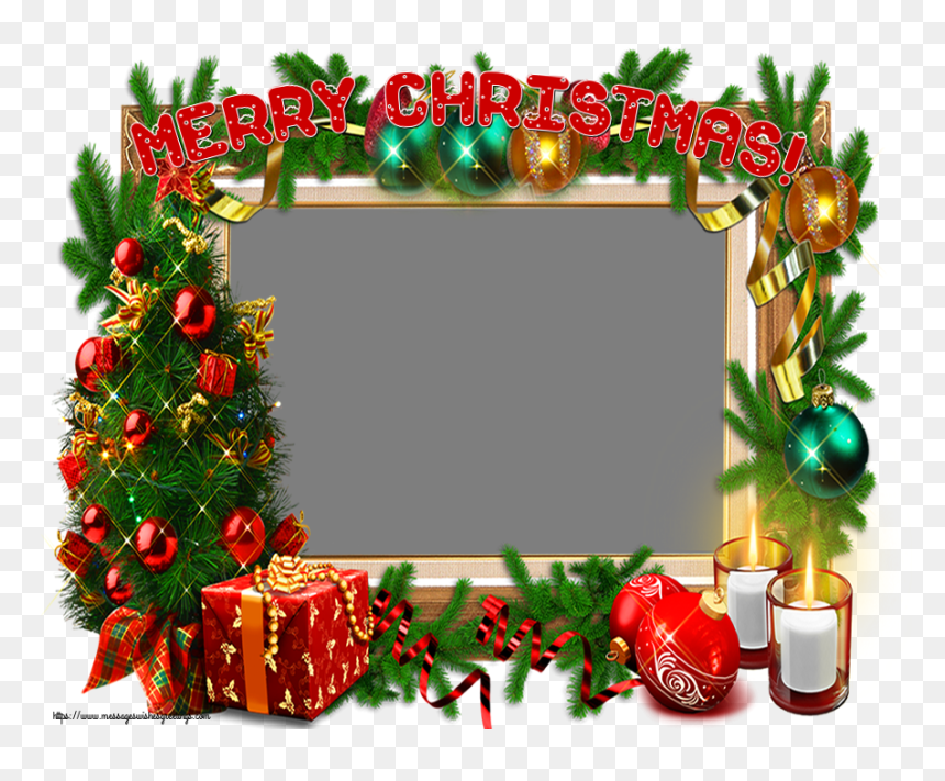 Custom Greetings Cards For Christmas Frame Christmas Frames And Borders Hd Png Download Vhv
