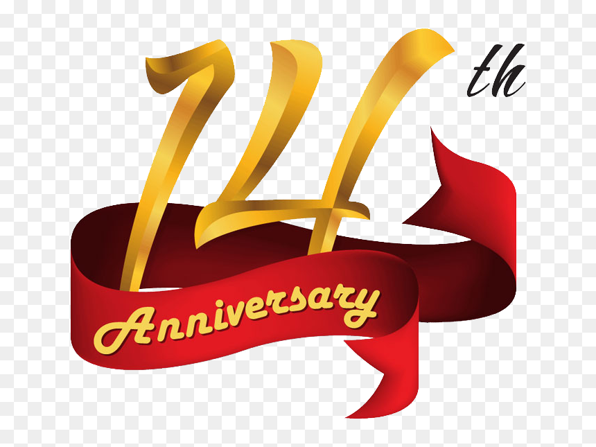 14th Anniversary Clip Art 14th Anniversary Hd Png Download Vhv
