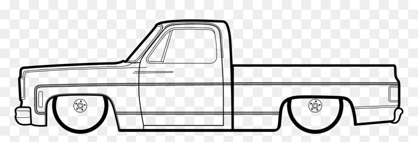 Chevy Drawing Square Body Picture Chevy Truck Drawing Easy Hd Png Download Vhv