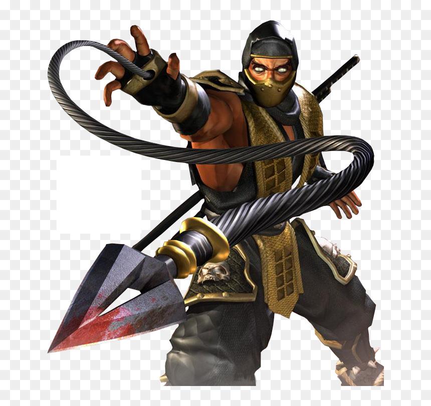 Mortal Kombat Scorpion Scorpion Mortal Kombat Png Transparent