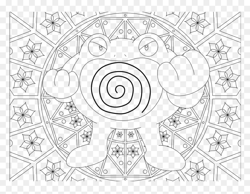 Hard Pokemon Coloring Pages , Png Download - Pokemon Adult Coloring Pages,  Transparent Png - Vhv
