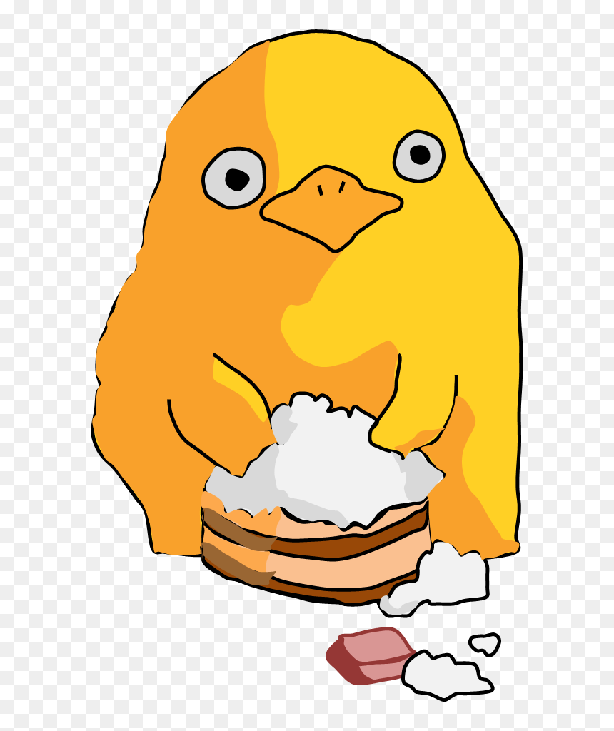 Pinterest Studio Ghibli Duck From Spirited Away Hd Png Download Vhv