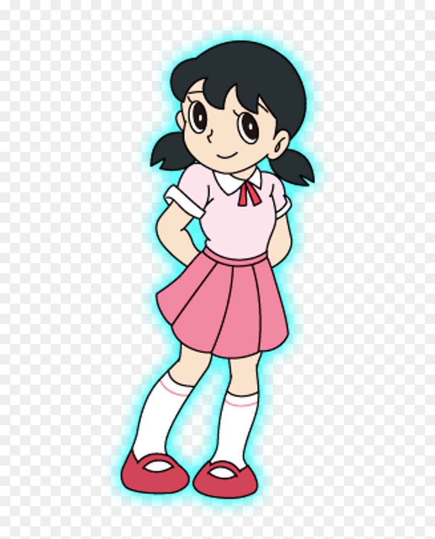 Shizuka In School Dress - Love Nobita Shizuka Png, Transparent Png - school dress png