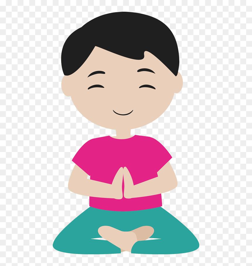 Meditation And Yoga For Kids Transparent Kids Yoga Clipart Hd Png Download Vhv
