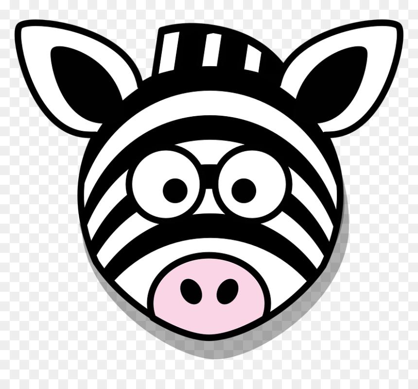 Zebra Head Clip Art Hd Png Download Vhv