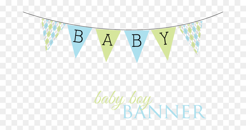 Baby Banner Png Baby Boy Banner Png Transparent Png Vhv