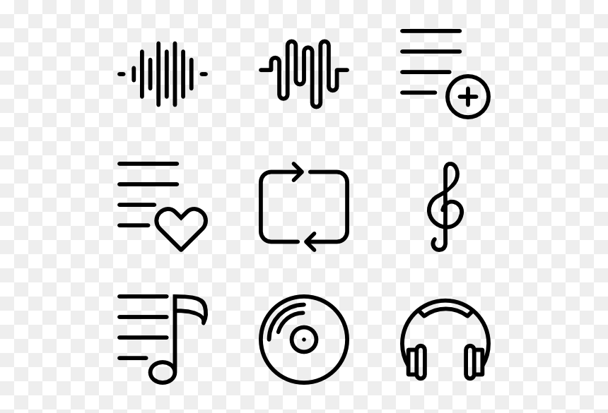 Music Buttons Png Music Player Png Aesthetic Transparent Png Vhv