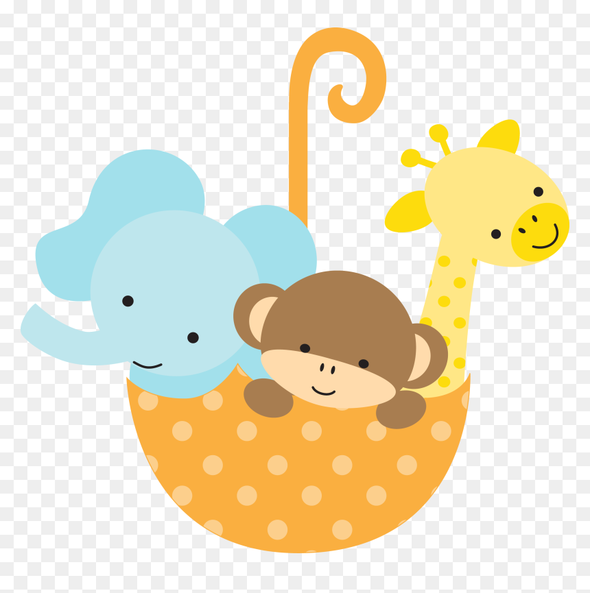 Download Safari Baby Shower Clipart Baby Shower Baby Animals Clipart Hd Png Download Vhv