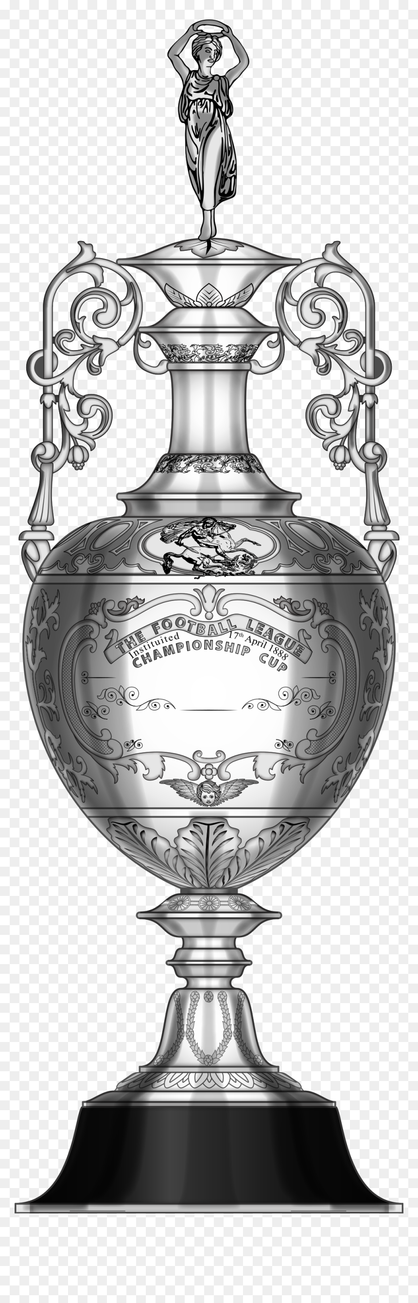 uefa champions league cup svg png download english football league championship trophy transparent png vhv uefa champions league cup svg png