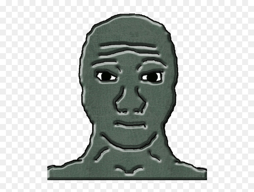 Transparent Wojak Png Wojak Front Png Png Download Vhv