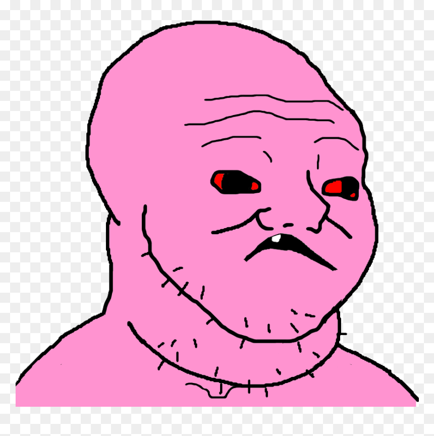 Wojak Brainlet Hd Png Download Vhv