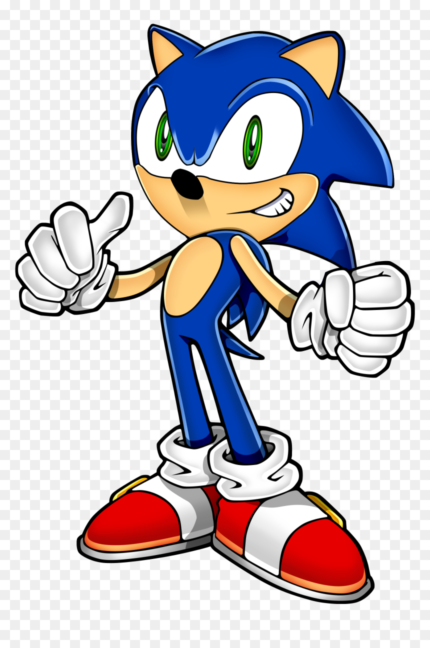 Modern School House Sonic Png Download Sonic The Hedgehog Official Art Transparent Png Vhv