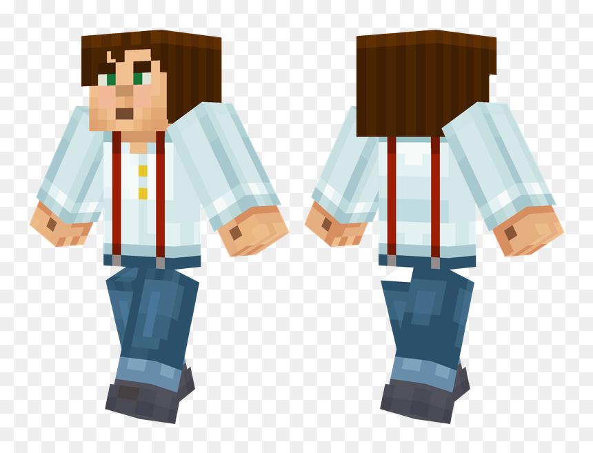 Skins De Minecraft Story Mode Jesse Hd Png Download Vhv