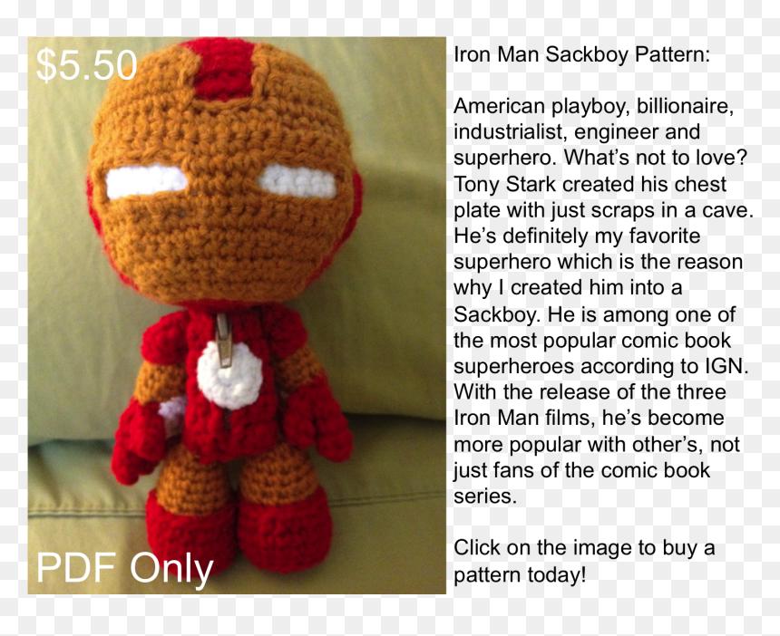 Amigurumi Iron Man Pattern | Crochet | Crafts | 702x860