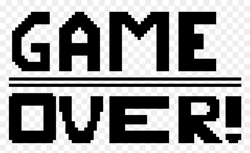 The Best Game Over Png Transparent PNG