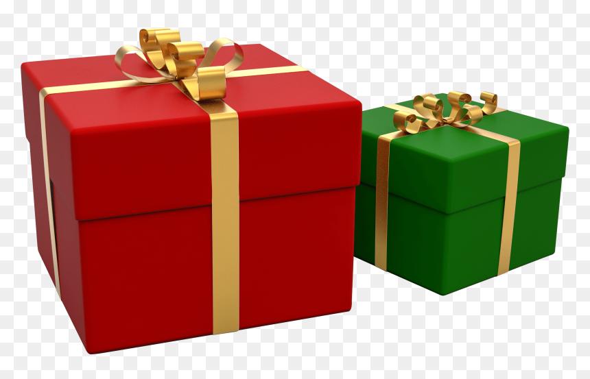 Big Christmas Gift Clipart Png Download Cadeau Noel Transparent Png Vhv