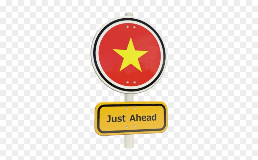 Download Flag Icon Of Vietnam At Png Format Traffic Sign Transparent Png Vhv