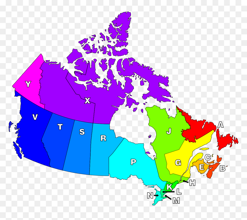 Map Of Canada No Names Map Of Canada No Names, HD Png Download   vhv