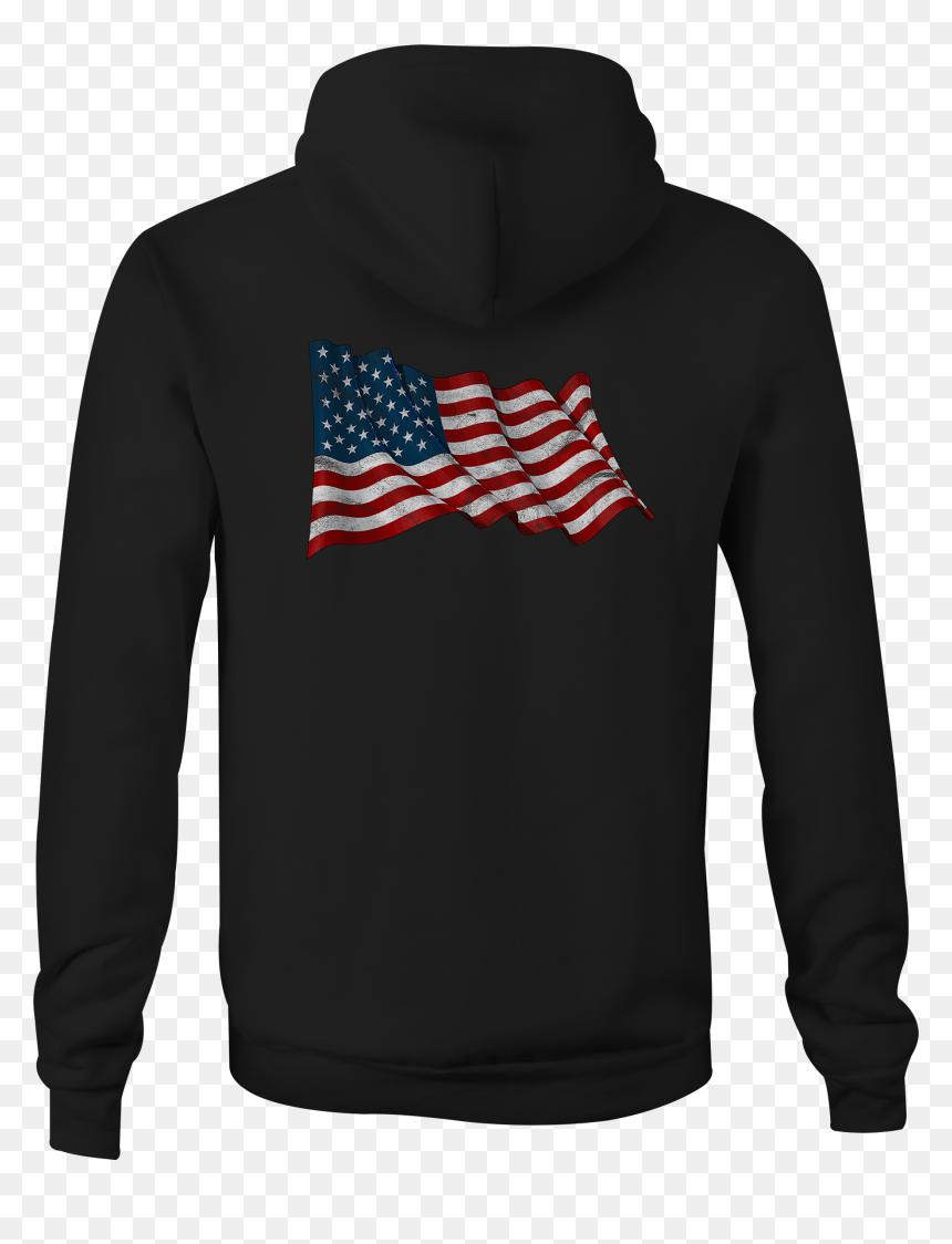 Distressed Navy Patriot US Flag Skull Military Hoodies for Men