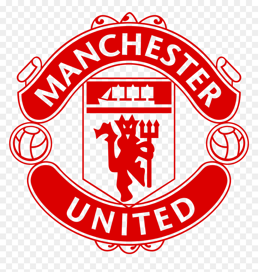 Red Devil Manchester United Logo Man United Logo Red Hd Png Download Vhv